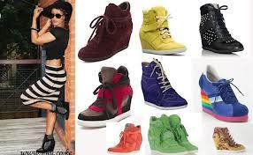 Wedge Sneaker Trend