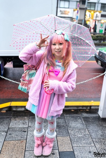 Fairy kei-friendly outfit