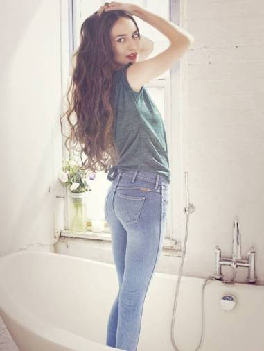 wrangler mositerizing skin jeans