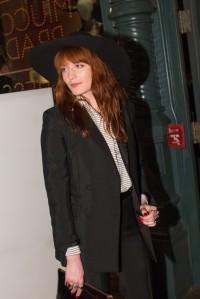 Prada-Florence Welch in Prada.