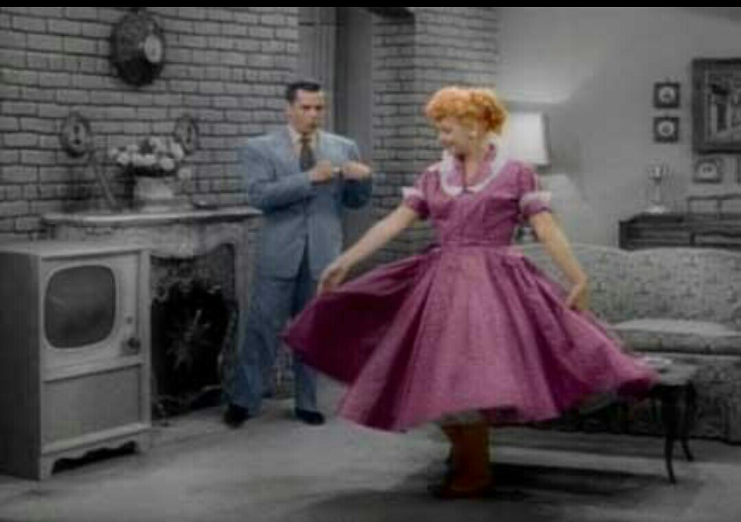 I Love Lucy Christmas Special In Color Fashion Forbes