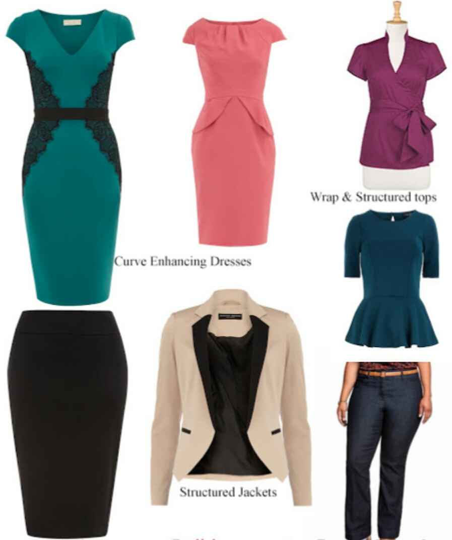 Dress style for bottom heavy body