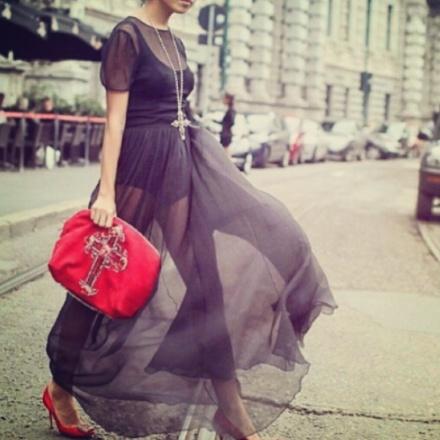 Sheer: Street Style