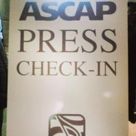 ASCAP Press Check-In.