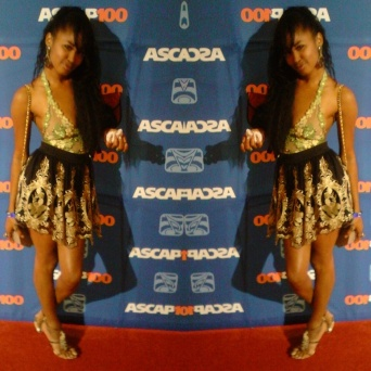 Akika on the Red Carpet