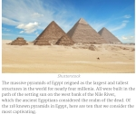 Egyptian Pyramids: Photo & Info Property: www.afktravel.com