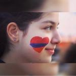 Armenian flag colors