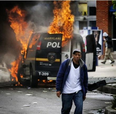 Baltimore Riots 2015.