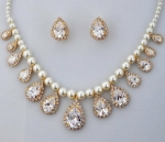 Mother of Pearl set with matching earrings!