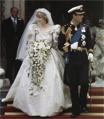 Image result for princess diana wedding